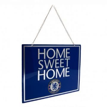 Chelsea FC Home Sweet Home Sign